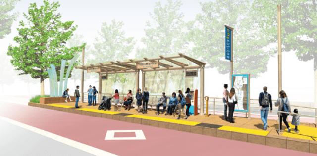 Madison_BRT_Platform
