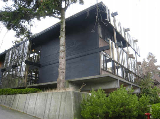 Exterior facade of The Theodora. (City of Seattle)