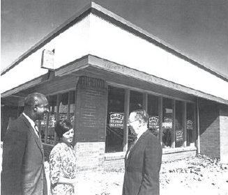 Liberty Bank was founded in 1968 to counteract redlining and serve the Black community. ( )