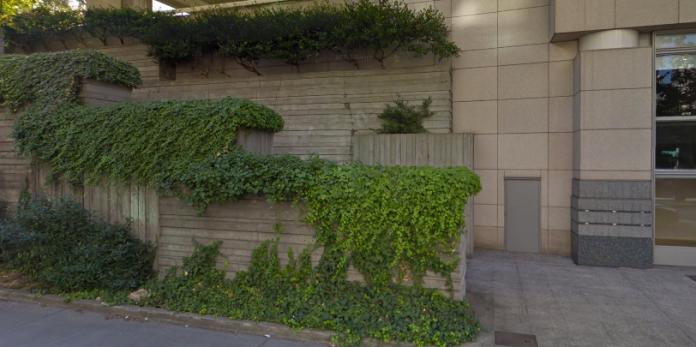 Freeway park entrance? (Google maps)