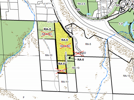 Zoning change proposed near Preston. (King County)