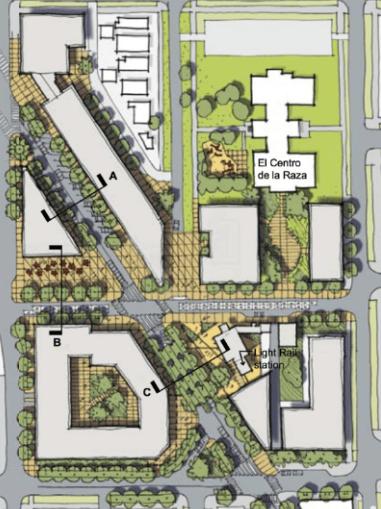 North Beacon Hill town center plans (SDOT)