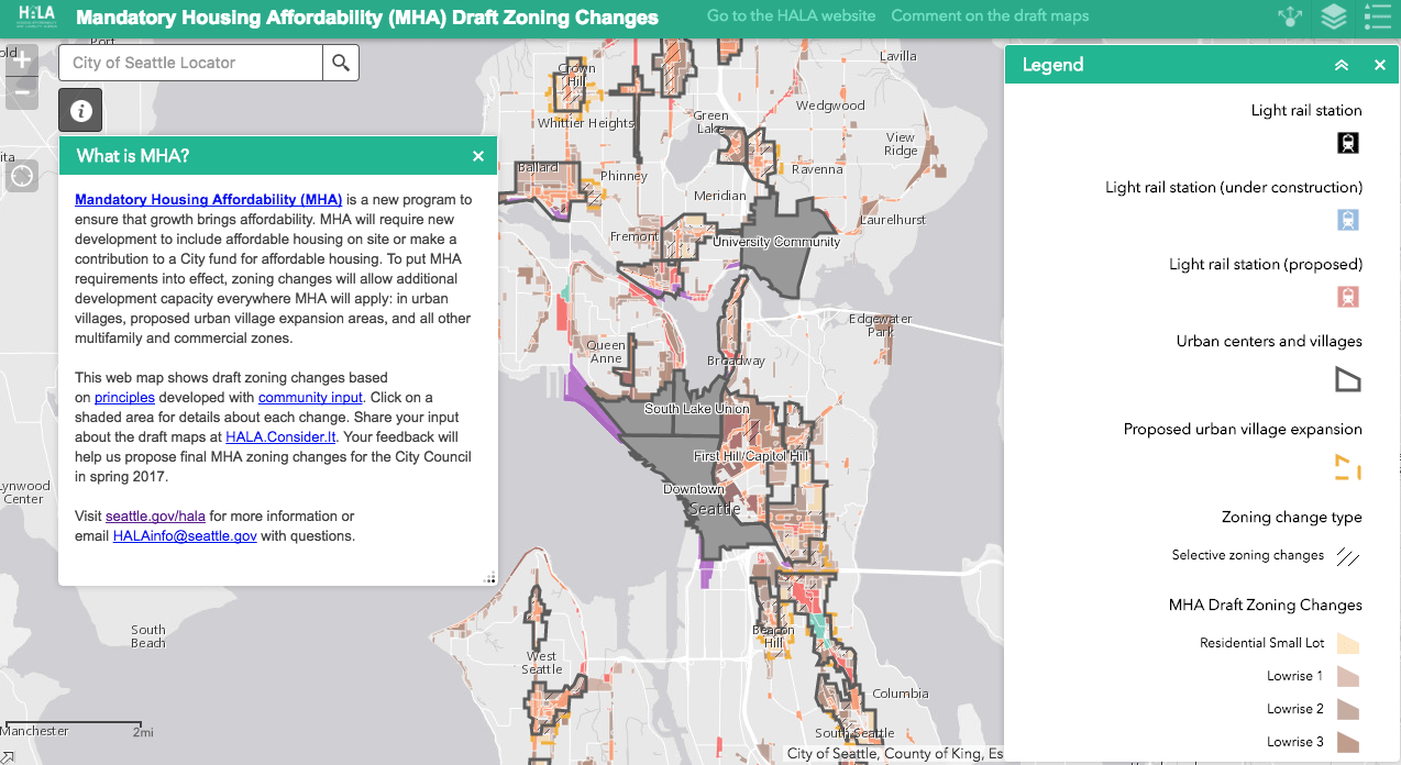 Map of the Week: Seattle's Interactive MHA Rezone Map | The ... City Map Of Seattle on visit seattle map, northshore school district map, king county map, los angeles seattle map, seattle city light map, time in seattle map, seattle tourist map, puget sound regional council map, downtown seattle walking map, seattle weather map, washington map, seattle pier map, city md map, seattle street map, seattle city parks map, city road map seattle wa, seattle visitors map, seattle center map, capital city map, seattle city limits map,