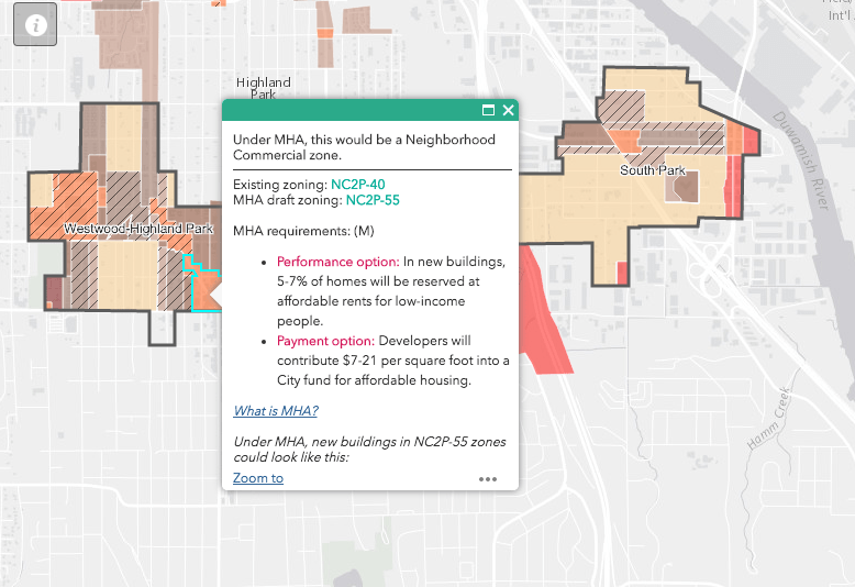 Map of the Week: Seattle's Interactive MHA Rezone Map | The