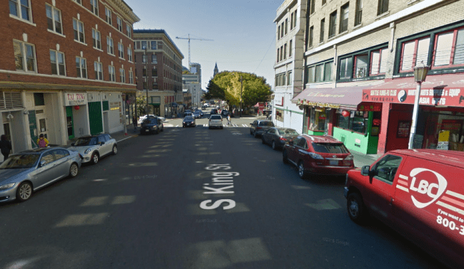 South King Street in the International District currently. (Google Maps)