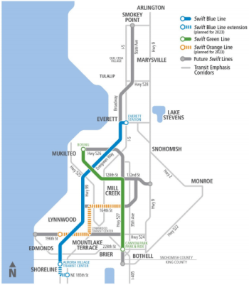 Community Transit's vision for Swift expansion. (Community Transit)