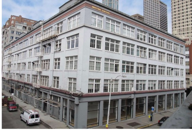 The Maritime Building pre-renovation. (City of Seattle)