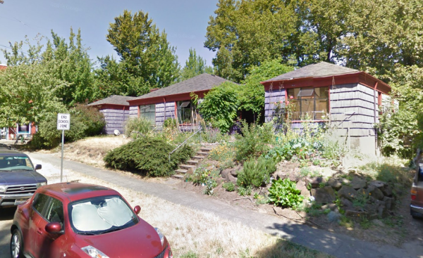 Existing fourplex owned by Liebowitz. (Google Maps)