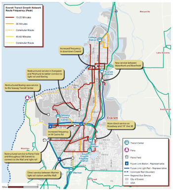 Growth Network Plan concept. (City of Everett)