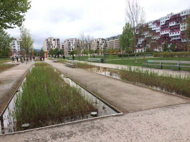 Vienna's Rudolf Bednar Park.