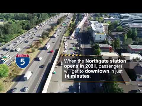 Sunday Video: Northgate Link Update