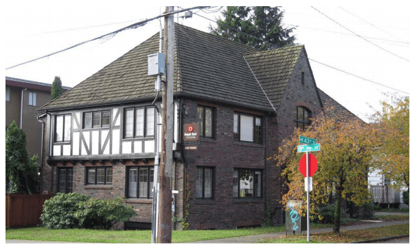 Recent photo of Anhalt Hall. (City of Seattle)