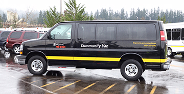 A Metro Community Van. (King County)