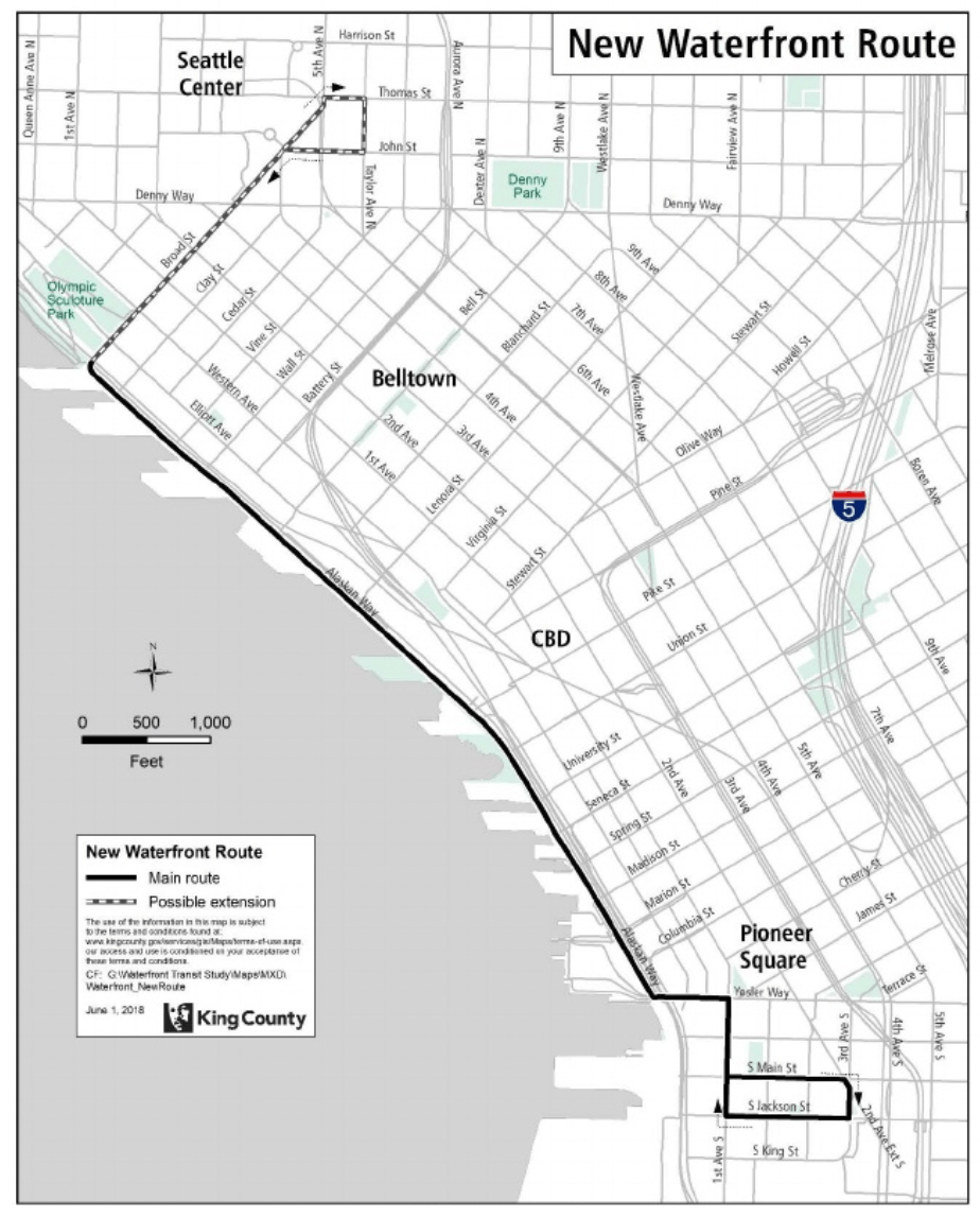 Metro Studies How To Better Serve The Waterfront And Belltown The
