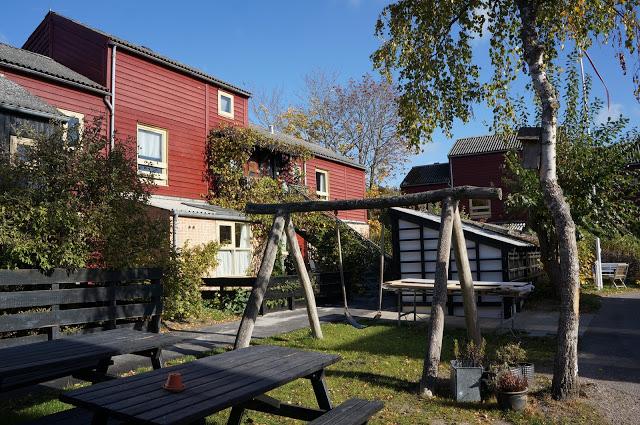 Common space in a non-profit housing association, Tinggården, in a Copenhagen suburb. (Roxanne Glick)