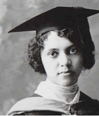 Alice Ball was the first African American woman to graduate from the University of Hawaii with a master's degree.  Credit: University of Hawaii