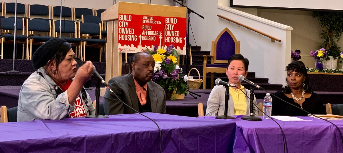 Conversation Moves Forward on How To Reduce Displacement in Seattle