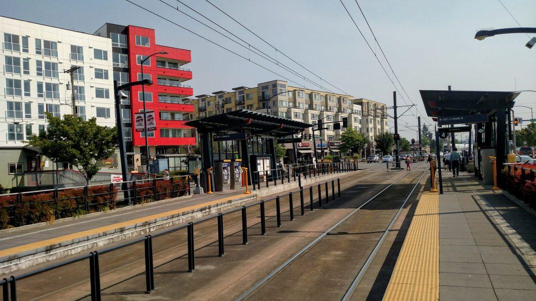 Othello light rail station. (Credit: Doug Trumm)