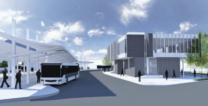 The new and improved Olympia Transit Center is expected to open soon. (Credit: Intercity Transit)