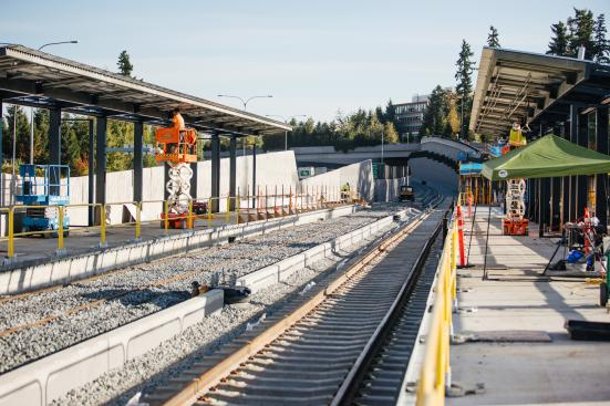 Overlake Station. (Sound Transit)