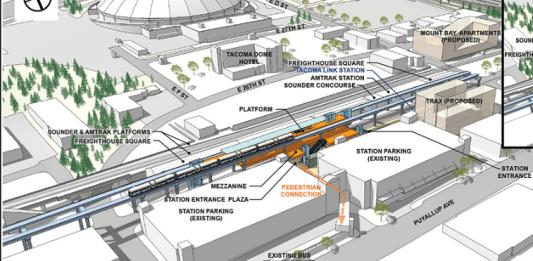 Tacoma Dome 25th West is Sound Transit's preferred station option. (Sound Transit)