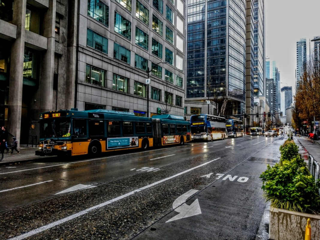 Second Avenue in Downtown Seattle. (Photo by author)