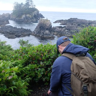 Storm Watching From The Wild Pacific Trail In Ucluelet