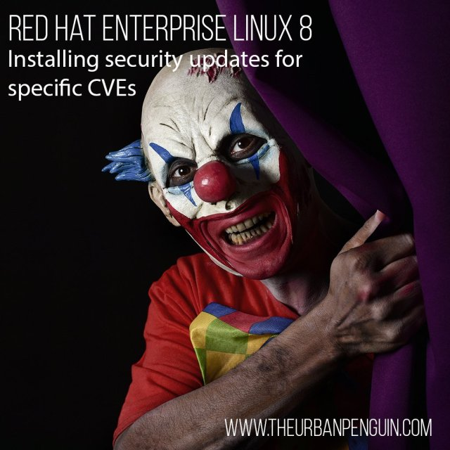 Applying Security Updates to Red Hat Enterprise Linux 8