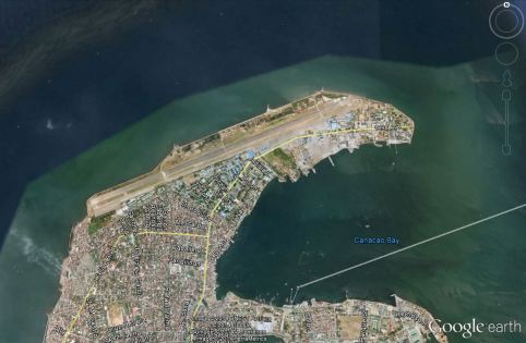 the new Manila International Airport is projected to be built along the vicinity of Sangley Field, a former US air base, which will be expanded to accommodate the planned airport (which may involve reclamation)