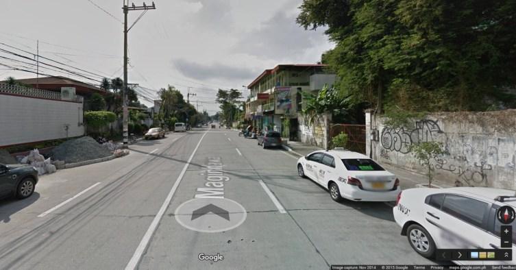 Street View Maginhawa QC