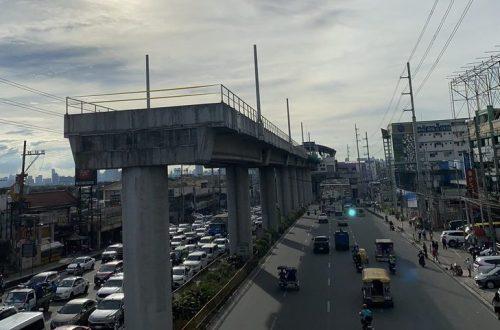 infrastructure mass rail transit Line 2 East Extension Masinag
