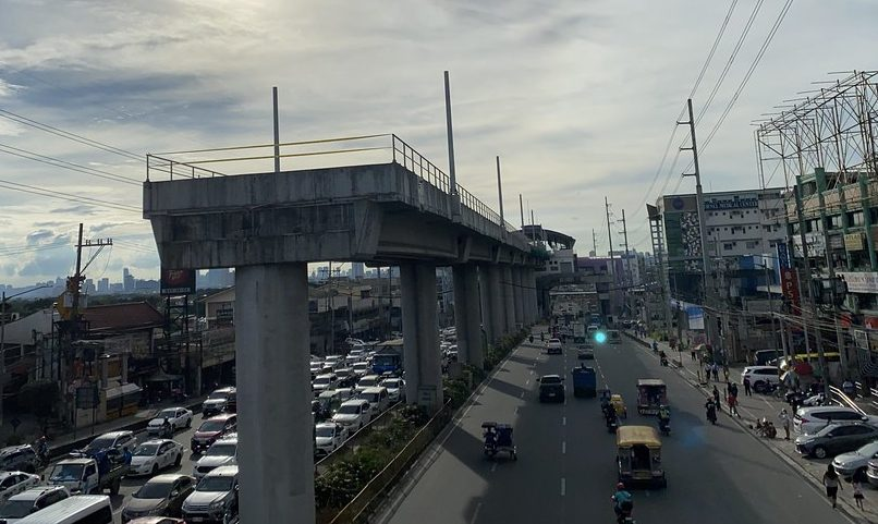 infrastructure mass rail transit Line 2 East Extension Masinag