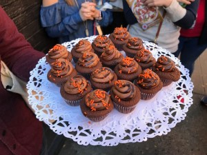Chocolate Cupcakes from Little Cupcake Bakeshop - Foods of NY Tours