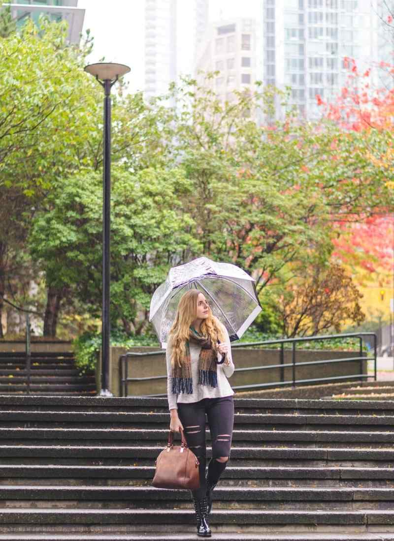How to Look Stylish in the Rain