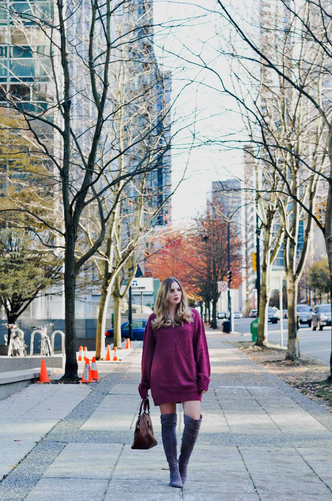 My Favourite Way to Style a Sweater Dress, how to wear sweater dress, how to style sweater dress, stylish sweater dresses