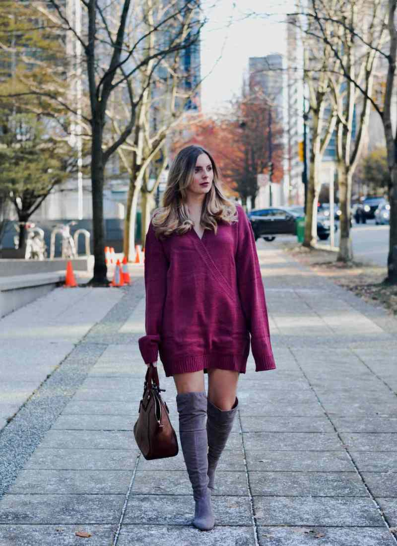 My Favourite Way to Style a Sweater Dress