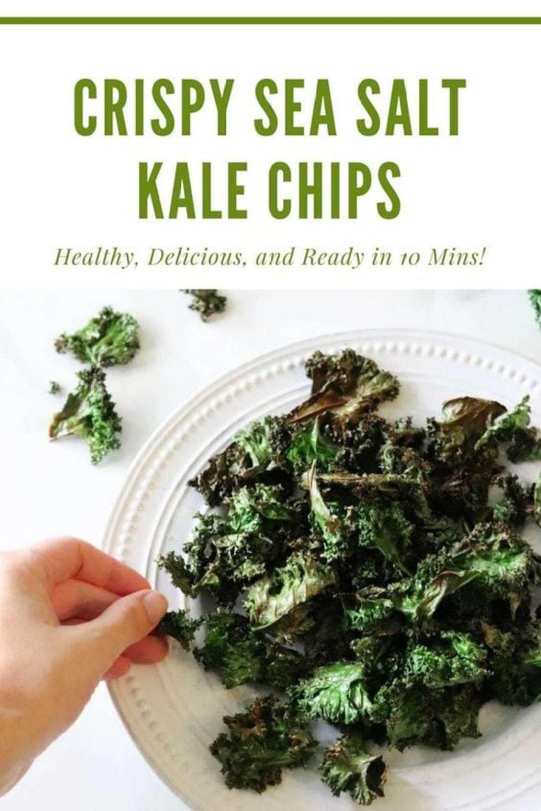 Crispy Sea Salt Kale Chip