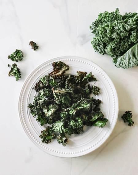 Crispy Sea Salt Kale Chips Recipe