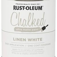 Rust-Oleum Ultra Matte Interior Chalked Paint Linen White