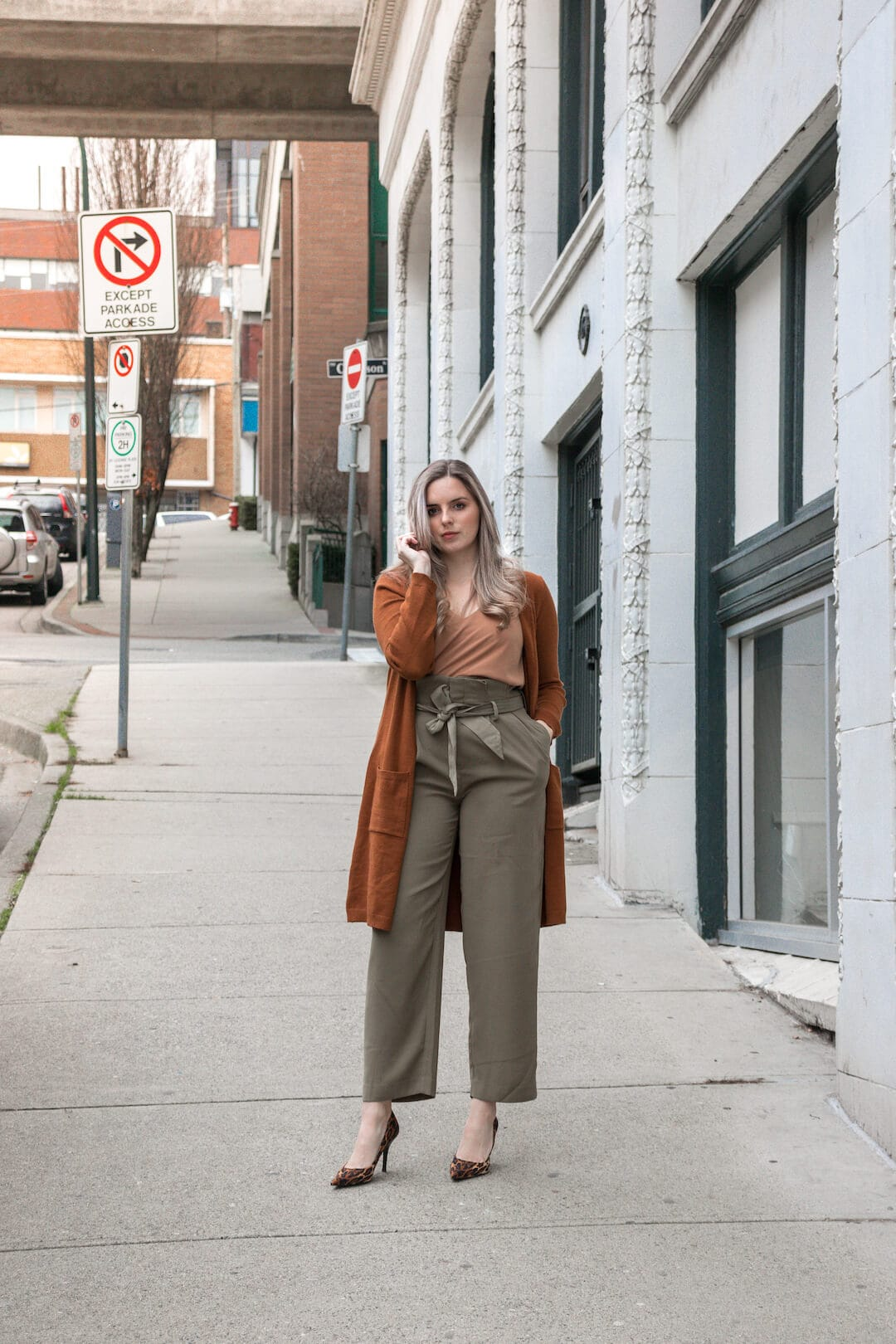 The Perfect Green Workwear Pants