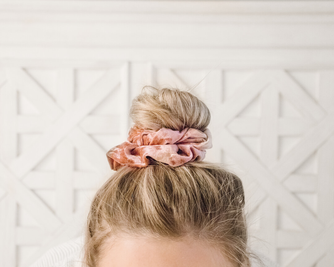 Cute Velvet Hair Scrunchie