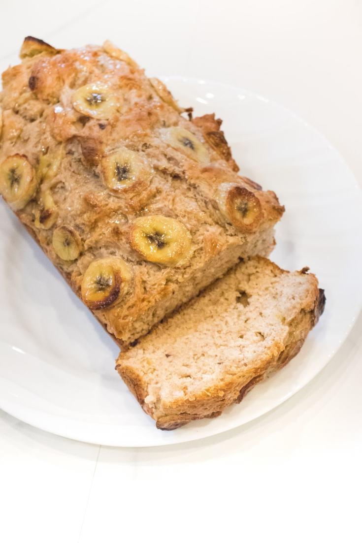 Honey Oat Banana Bread