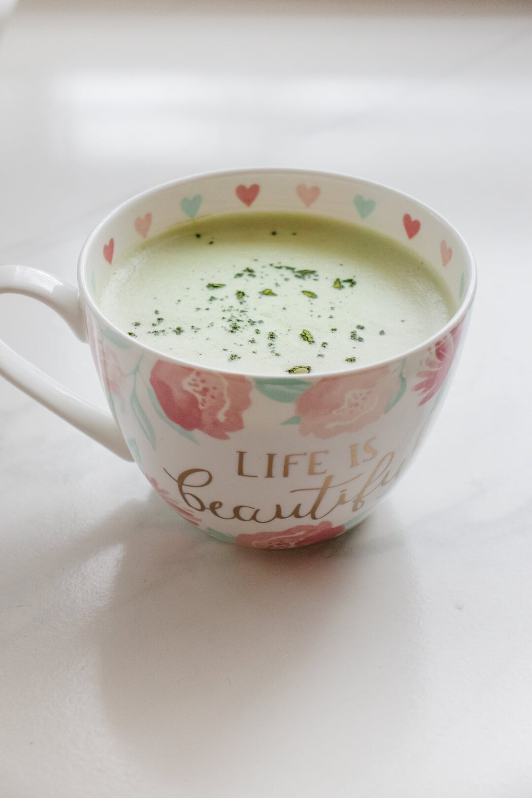 Matcha Collagen Latte