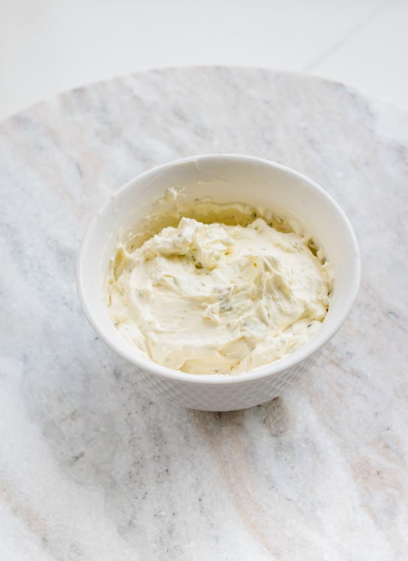 Whipped Lemon Garlic Butter