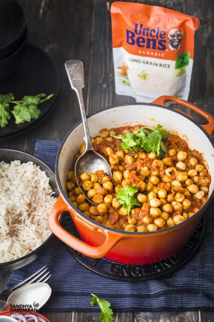 Quick & Easy Chana Masala