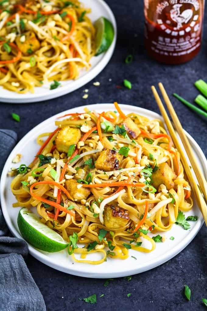 30-Minute Vegan Pad Thai