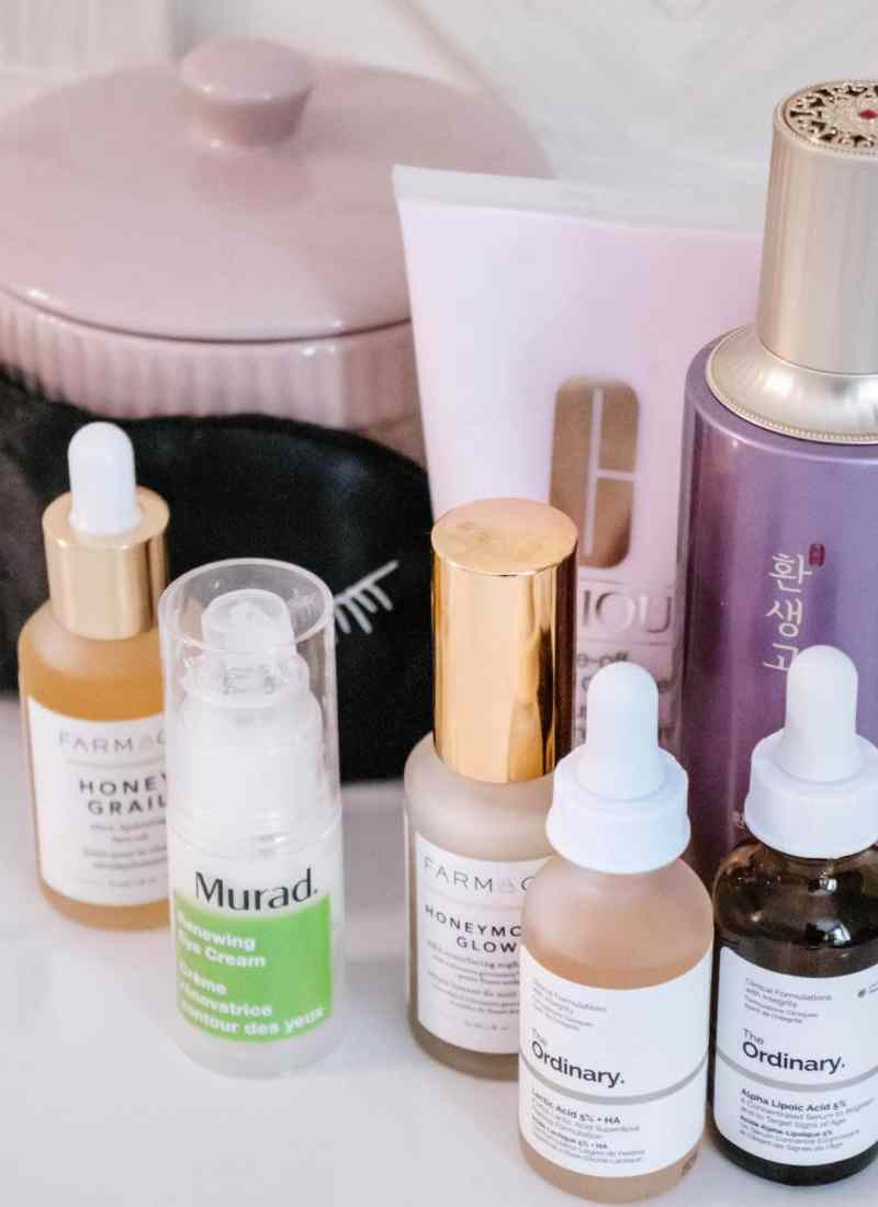 My Updated Summertime Skincare Routine for Dry Skin