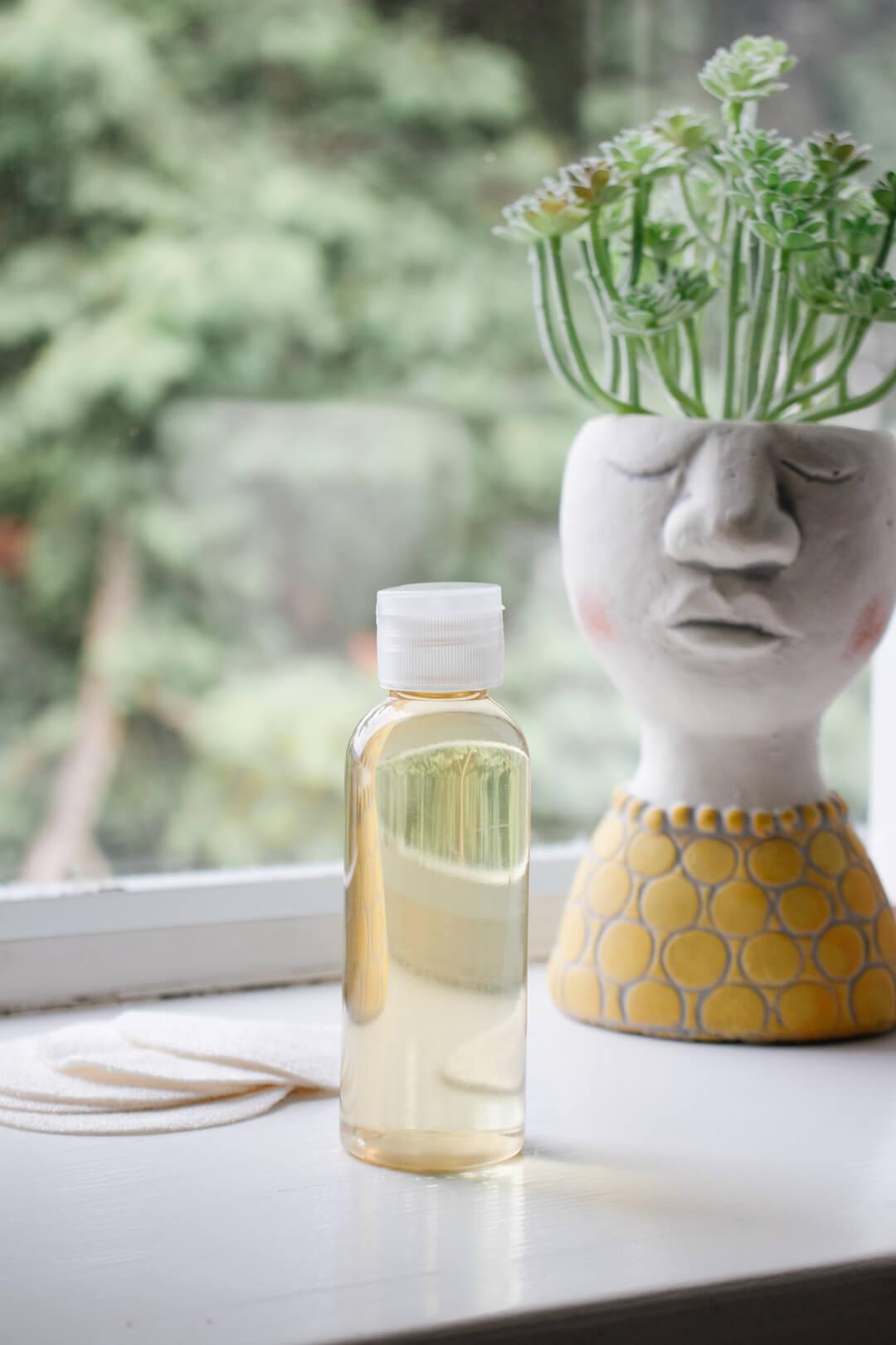 DIY Green Tea Facial Toner