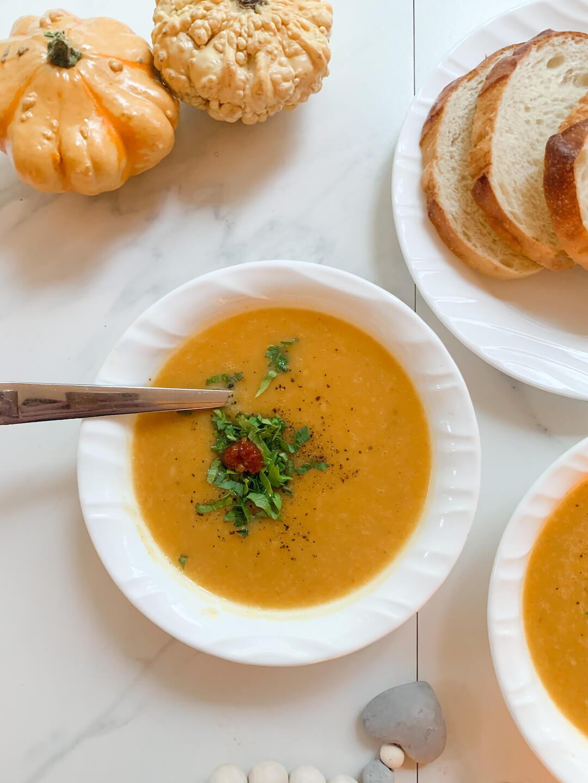 Buttercup Squash Soup Recipe
