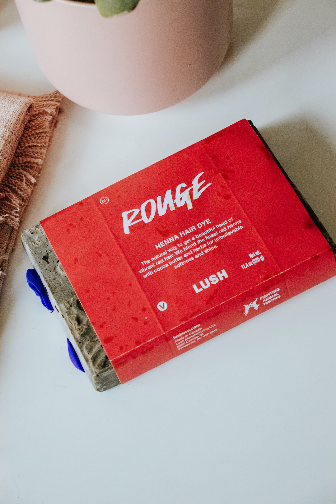 Lush Rouge Henna Review